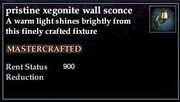 Xegonite Wall Sconce
