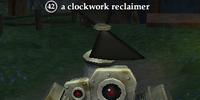 A clockwork reclaimer