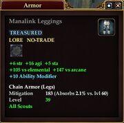 Manalink Leggings