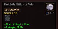 Knightly Effigy of Valor