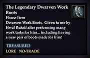 The Legendary Dwarven Work Boots
