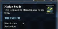 Hedge seeds