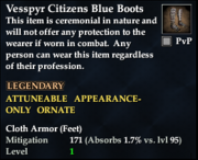 Vesspyr Citizens Blue Boots