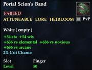 Portal Scion's Band