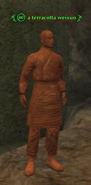 A terracotta weisuo