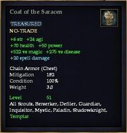 Coat of the Saracen