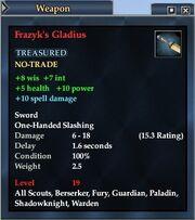 Frazyk's Gladius