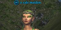A vale maiden