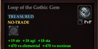 Loop of the Gothic Gem