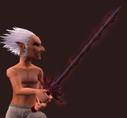 Soul Leech, Dark Sword of Blood (Equipped)