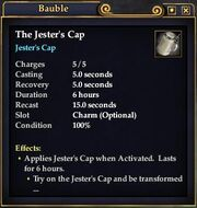 The Jester's Cap