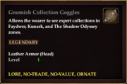 Gnomish Collection Goggles