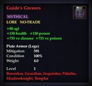 Guide's Greaves