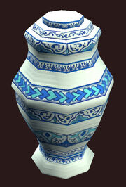 An Ornate Vase from Collection Placed