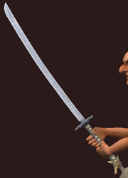 Iron Katana (Equipped)