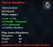 Glacial Spaulders