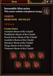 Inexorable Moccasins