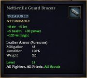 Nettleville Guard Bracers