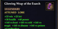 Glowing Wrap of the Exarch