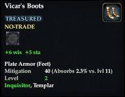Vicar's Boots