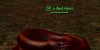 A dust viper