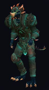 Triumphant Armor of the Divide (Plate Tank) (Armor Set) (Visible, Male)