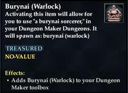 Burynai (Warlock)