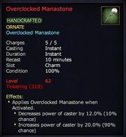 Overclocked Lifestone