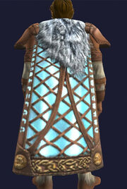 Halas Icerune Cloak equipped