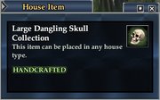 Large Dangling Skull Collection