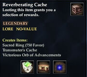 Reverberating Cache