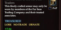 Russet Helm of the Far Seas Traders