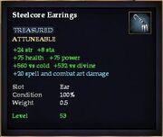 Steelcore Earrings