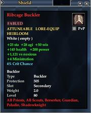 Ribcage Buckler