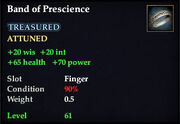 Band of Prescience