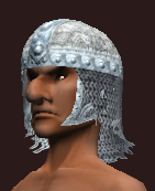 Forged Feyiron Chainmail Coif (Equipped)