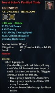 Forest Scion's Purified Tunic