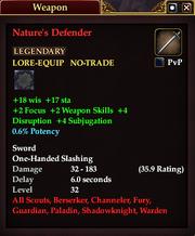Nature's Defender