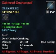 Oakwood Quarterstaff