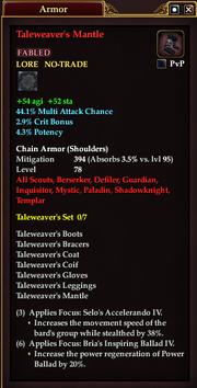 Taleweaver's Mantle
