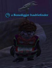 A Bonedigger baublefinder
