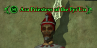 Ara Priestess of the Fyr'Un