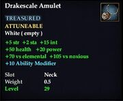 Drakescale Amulet