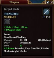 Forged Blade