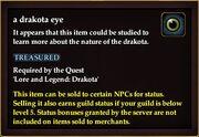 A drakota eye