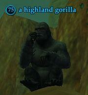 A highland gorilla