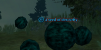 A seed of obscurity