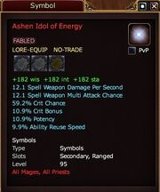 Ashen Idol of Energy