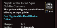 Nights of the Dead Aqua Goblin Costume