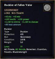 Buckler of Fallen Valor